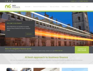 ngifinance.co.uk screenshot