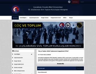 ngo.comu.edu.tr screenshot
