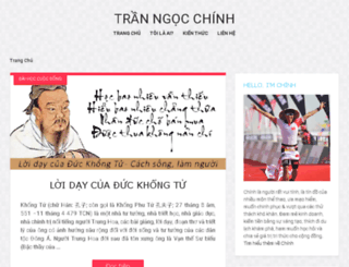 ngocchinh.com screenshot
