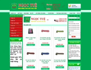 ngoctue.com screenshot