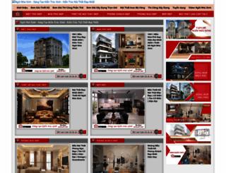 ngoinhaxinh.com.vn screenshot