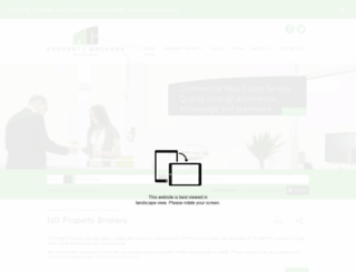 ngpropertybrokers.co.za screenshot