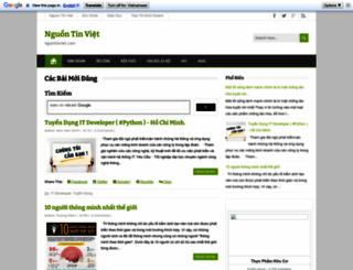 nguontinviet.com screenshot