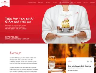 nguyendinh.com.vn screenshot