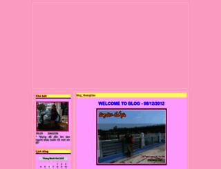 nguyenhoangdao.blogtiengviet.net screenshot