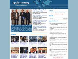 nguyenvanhuong.net screenshot