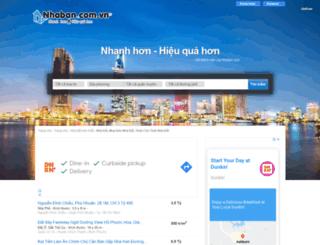 nhaban.com.vn screenshot