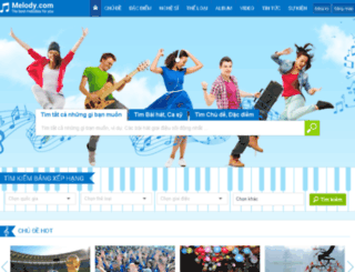 nhac.kenhtin.net screenshot