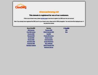 nhaccachmang.net screenshot