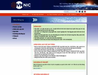 nhadangky.vn screenshot