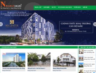 nhadat24gio.com.vn screenshot