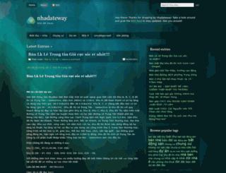 nhadateway.wordpress.com screenshot