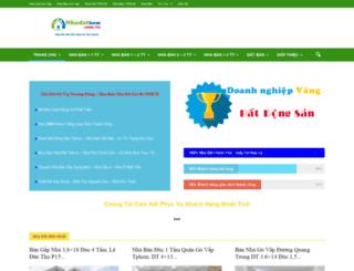 nhadathcm.com.vn screenshot