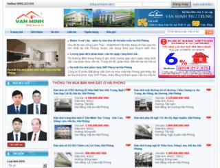 nhadatvanminh.com screenshot