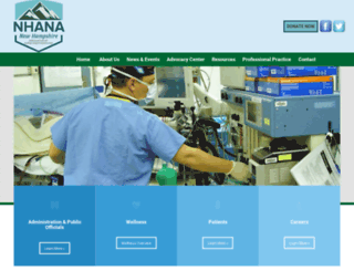 nhana.org screenshot