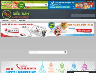 nhanluchungvuong.edu.vn screenshot