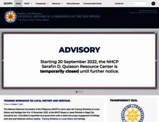 nhcp.gov.ph screenshot