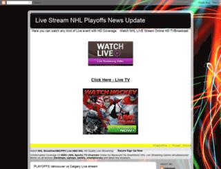nhlplayoffslive.blogspot.com screenshot