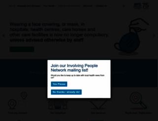 nhsggc.org.uk screenshot