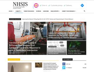 nhsjs.com screenshot