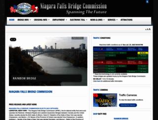 niagarafallsbridges.com screenshot