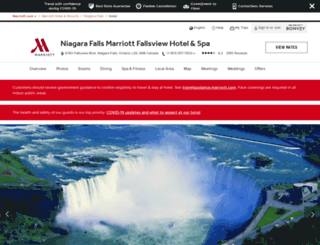 niagarafallsmarriott.com screenshot