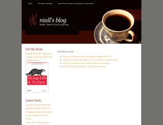 niallohiggins.com screenshot