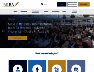 niba.com.au screenshot