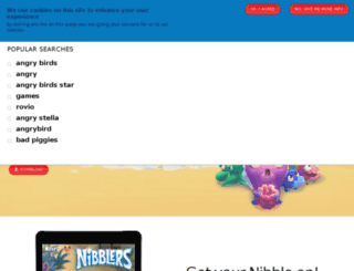 nibblers.rovio.com screenshot