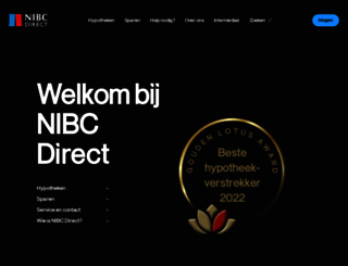 nibcdirect.nl screenshot