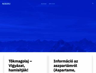 nibiru.hu screenshot