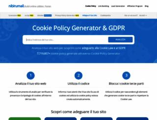 nibirumail.com screenshot