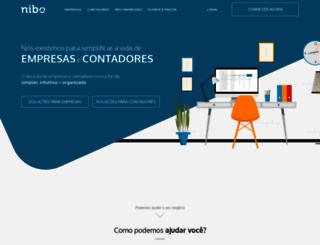 nibo.com.br screenshot
