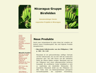 nicaragua-gruppe.ch screenshot