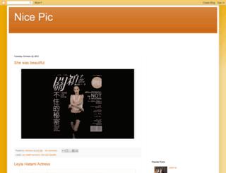 nice-pic-nice.blogspot.co.uk screenshot