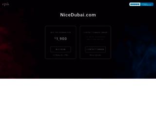 nicedubai.com screenshot