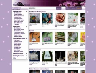 nicepricefavors.com screenshot