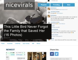 nicevirals.com screenshot