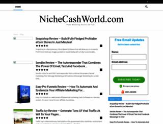 nichecashworld.com screenshot
