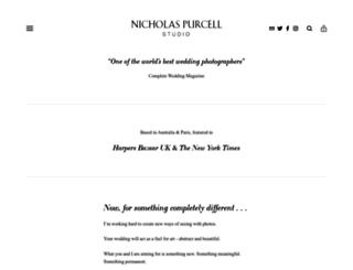 nicholaspurcellstudio.com screenshot