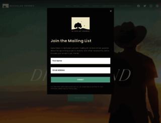 nicholassparks.com screenshot