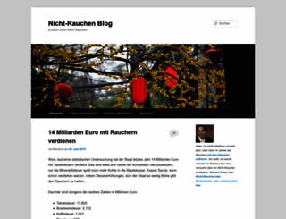 nicht-rauchen-blog.de screenshot