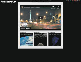 nick-benson.com screenshot