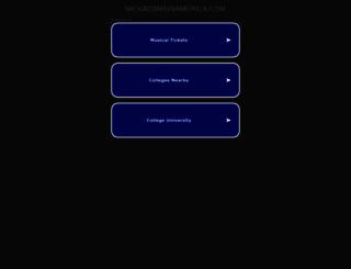 nickadamsinamerica.com screenshot