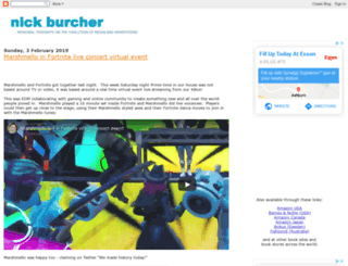 nickburcher.com screenshot