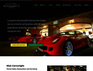 nickcartwright.com screenshot