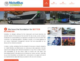 nickelbus.com screenshot