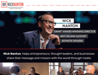 nicknanton.com screenshot