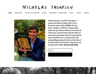 nickthompson.com screenshot