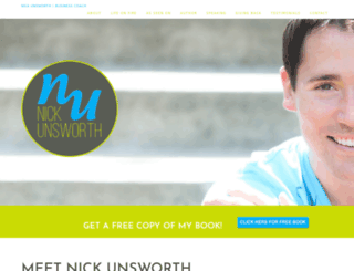 nickunsworth.com screenshot